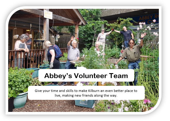 Abbey's Volunteer Team