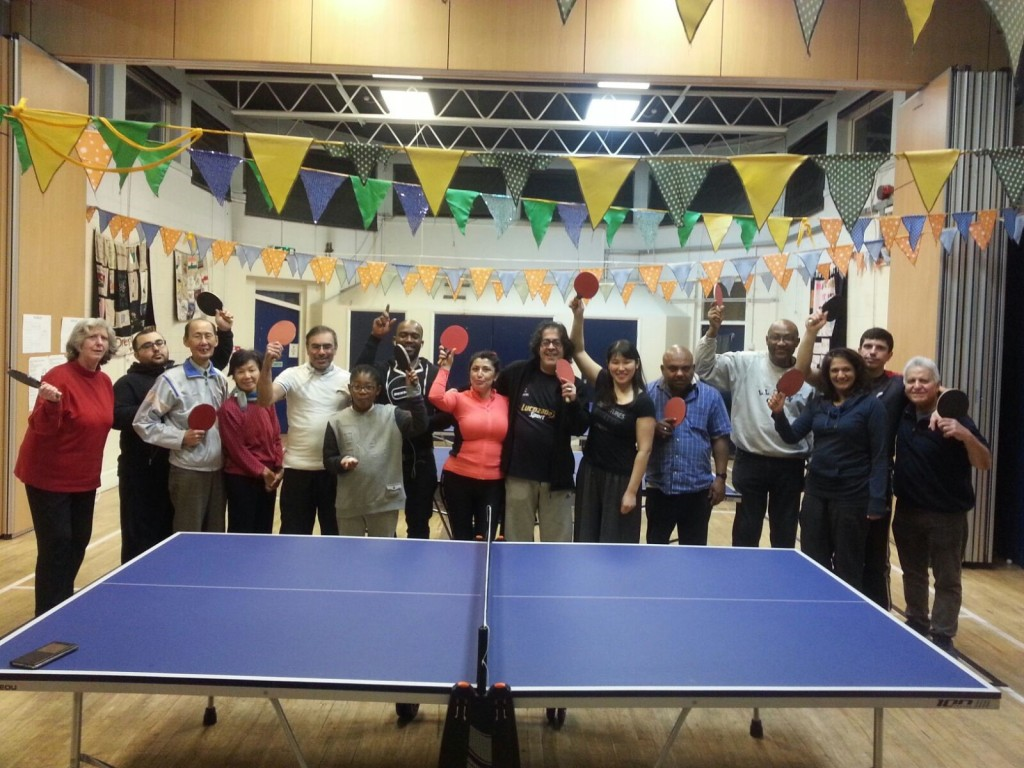 Table tennis xmas tournament